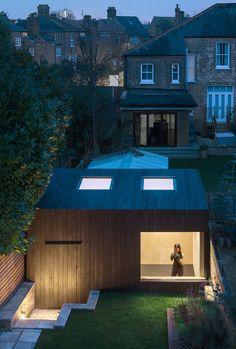 Sunken garden studio by eastwest architecture.
