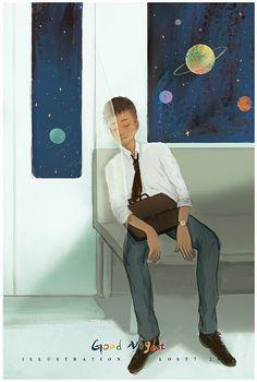 孤单星球|插画|商业插画|lost7 - 原创作品 - 站酷 (ZCOOL)