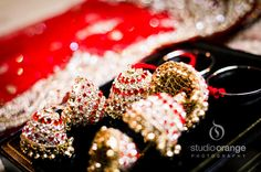 The jhumkas for bridal bangles!