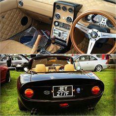 #crapengineering's #V6 roadster! / Via @joshjdotallen   #TopMiata #mazda #miata #mx5 #eunos #roadster #v6miata Miata Mods, Miata Car, Mazda Roadster, Mx5 Parts, Thing 1, Mazda Miata, Zoom Zoom, Mk1, Interiors