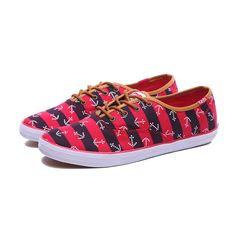 0672403f0fb1b0 Keds Shoes Womens Champion Anchors Red Black