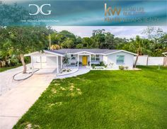Sarasota Real Estate, Fenced Yard, Gate, Rv, Garage Doors, Backyard, Link, Outdoor Decor, Motorhome