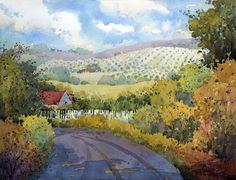 J Hicks Fine Art | Peonies I Saw in Pennsylvania 18×24