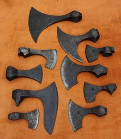 Axe patterns by Owen Bush.