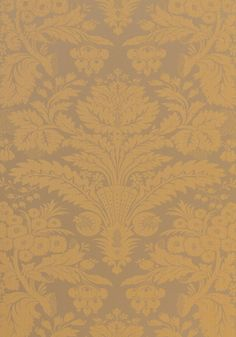TADDINGTON, Metallic on Gold, T7618, Collection Damask Resource 3 from Thibaut