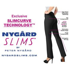 Did you know #NYGARDSLIMS use Slimcurve Technology to make your waist and backside look one size smaller?