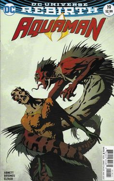 DC Aquaman Universe Rebirth comic issue 19 Limited variant