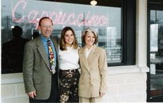 Joe and Shelley Tortorice with their daughter in the 90s.