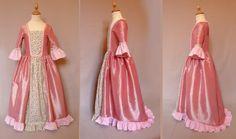 déguisement robe marquise volantée