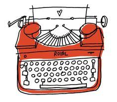 ROYAL typewriter Alanna Cavanagh