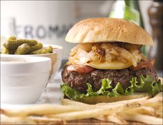French Bistro Burger – Rugby World Cup Recipes | Boysie's Burger Blog