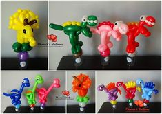 Some dinosaur candy cups. Can be any color. Do much fun! #dinosaur #candycups #partyfavors #happybirthday #balloonanimals…