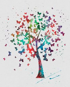 Tree of Butterflies