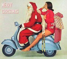 A website dedicated to Vespa and Lambretta scooters. Vintage Vespa, Vespa Retro, Vintage Bikes, Mode Vintage, Vintage Ads, Retro Ads, Vintage Images, Vespa Girl, Scooter Girl