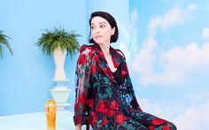 Download wallpapers St Vincent, 4k, American singer, portrait, brunette, beautiful woman, Anne Erin Clark