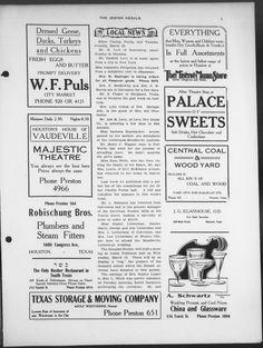 The Jewish Herald (Houston, Tex.), Vol. 2, No. 26, Ed. 1, Thursday, March 10, 1910