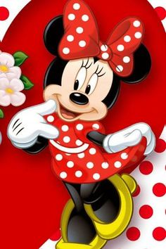 Disney Mickey Mouse, Minnie Mouse Clipart, Minnie Mouse Stickers, Red Minnie Mouse, Minnie Mouse Background, Mickey Mouse Wallpaper Iphone, Disney Wallpaper, Iphone Wallpaper, Minnie Mouse Face Painting