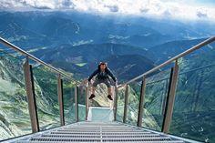 Dachstein Stairway – Austria  AKA stairway to Nothingness