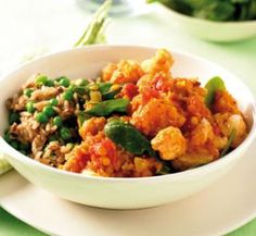 Pumpkin and lentil curry   Healthy Food Guide - this delicious curry is high in fibre and low in fat.