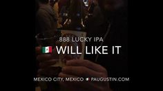"888 LUCKY Beer or 888 LUCKY IPA named the ""BEST BEER"" at 1) New York City USA ; 2) Annapolis Maryland USA 3) Stockholm Sweden Beers and 4) Mexico City Mexico  festivals by craft beers lovers in attendance check out video at http://ift.tt/2dZvGkD ; 888 Craft Beers Global  Tours : 1st Taipei Taiwan ; 2nd Shanghai China ; 3rd Chongqing China; 4th Costa Rica ; 5th London England ; 6th Stockholm Sweden ; 7th Berlin Germany ; 8th Mexico City Mexico ; 9th Nuremberg Germany; 10th Tokyo Japan…"