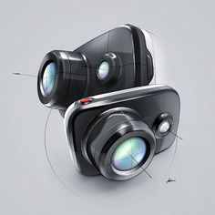 Heres the full render of the camera.  Let me know what you think