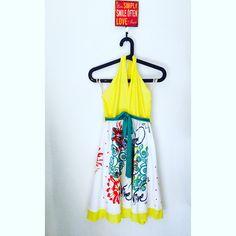 Summer is around the corner... Show up bright! #handmade #dress #flowers #summer