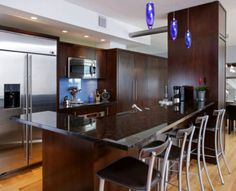 "Kitchen countertop using Brown Antique ""Original"" Granite Natural Stone - Contact Granite Dealers for availability +1 800-848-1339"