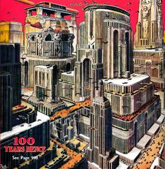 Hallucinatory Architecture of the Future