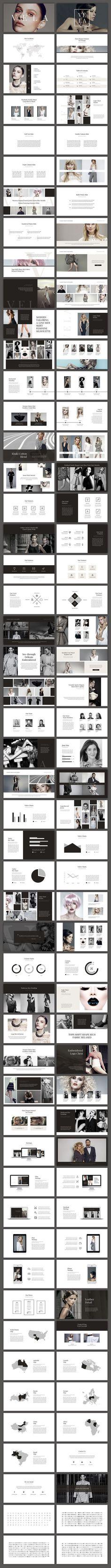 Vela PowerPoint Template by SlideStation on @creativemarket