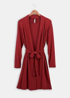 Lightweight robe from Rodale's. #organic #bamboo #madeintheusa