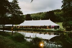 Picture perfect, a beautiful location deserves a beautiful marquee. This traditional canvas pole marquee is capable of seating up to 200 guests with space for a reception and dance area. Reception, Environment, Dance, Traditional, House Styles, Canvas, Beautiful, Home Decor, Dancing
