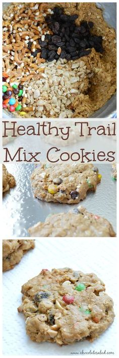 An awesome sweet and savory cookie perfect for an after school snack or take along on a hike! on chocolatesalad.com