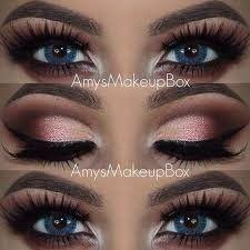 Eyeshadow For Blue Eyes, Makeup For Green Eyes, Blue Eye Makeup, Smokey Eye Makeup, Eyeshadow Looks, Skin Makeup, Makeup Brushes, Simple Eye Makeup, Natural Eye Makeup