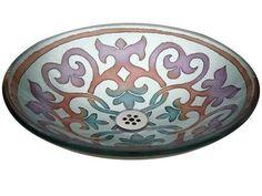 Glass River Design Samarkand Glass Vessel Sink