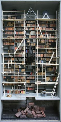 Little Boxes Turned Into Dark Laboratories And Libraries By Marc Giai-Miniet