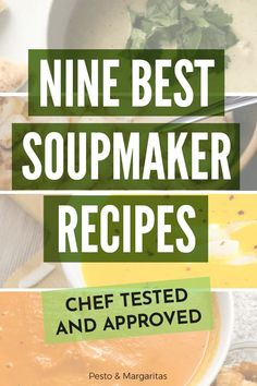 Not everyone has heard of a soupmaker, but they are definitely a kitchen gadget worth checking out i Tomato Soup Recipes, Vegetable Soup Recipes, Chicken Soup Recipes, Homemade Vegetable Soups, Pumpkin Recipes, Fall Recipes, Dinner Recipes, Corn Recipes, Thai Recipes