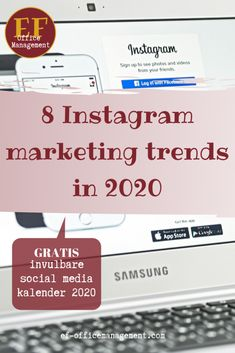 8 Instagram marketing trends in 2020 | EF Office Management Instagram Sign, Ecommerce, Office Management, Competitor Analysis, App, Marketing, Photo And Video, Blog, Trends