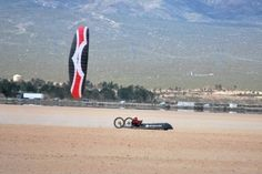 Kite buggy world speed record