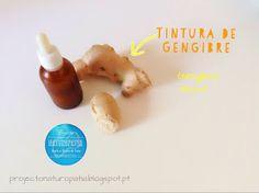 Projecto Naturopatia: Queres aprender a fazer uma Tintura de Gengibre?