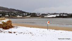 Google+ Kinnegar Beach in the Snow on 3rd March 2015