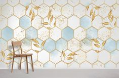 Ombre Hexagons - Peel and Stick