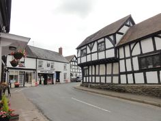 Weobley village Black and White Trail Herefordshire