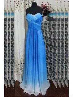 2016 Strapless A Line Chiffon Long Prom Dresses Ruffles Rainbow Colorful Dress Vestido De Fiesta Prom Party Dresses Special Occasion Dresses Maxi Prom Dresses Peacock Prom Dress From Aprildress01, $109.55| Dhgate.Com