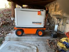 Reduce that strain of trying to move generators for your job site or during emergencies by making them mobile using a PUG Technologies All-Terrain Electric Pallet Truck or Utility Cart Electric Utility, Utility Cart, Workplace, Pugs, Pallet, Deck, Platform, Trucks, Technology