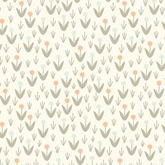 CLOUD9 Morning Song dotty blooms ivory