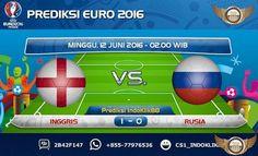 Prediksi Piala Eropa 2016 Grup B Inggris vs Rusia, jadwal pertandingan inggris vs russia akan berlangsung pada tanggal 12 Juni 2016 jam 02.00 Waktu Indonesia Bagian Barat. Pertandingan ini akan ber…