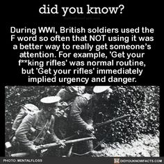 Perhaps I am a WWI British soldier
