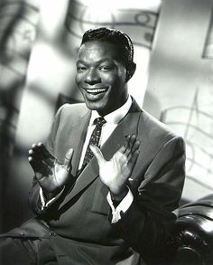 "Mar 17, 1919 Nat King Cole born in Montgomery, AL, became the first African-American performer to host a variety TV series in 1956. He's best known for his soft baritone voice and for singles like ""The Christmas Song,"" ""Mona Lisa"" and ""Nature Boy."""