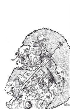 Leman Russ,Primarchs,Warhammer 40000,warhammer40000, warhammer40k, warhammer 40k, ваха, сорокотысячник,фэндомы,Thousand Sons,Pre-heresy,Wh Past,Vulkan