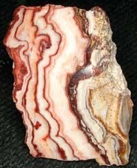 Strawberry Onyx, Ribbon Rock Mine, Bristol Mountains, California